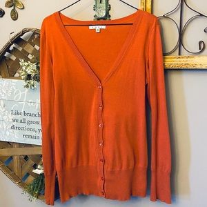 Cabi cardigan sweater button front style 615
